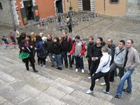 Click to view album: Lectures and walk in Girona