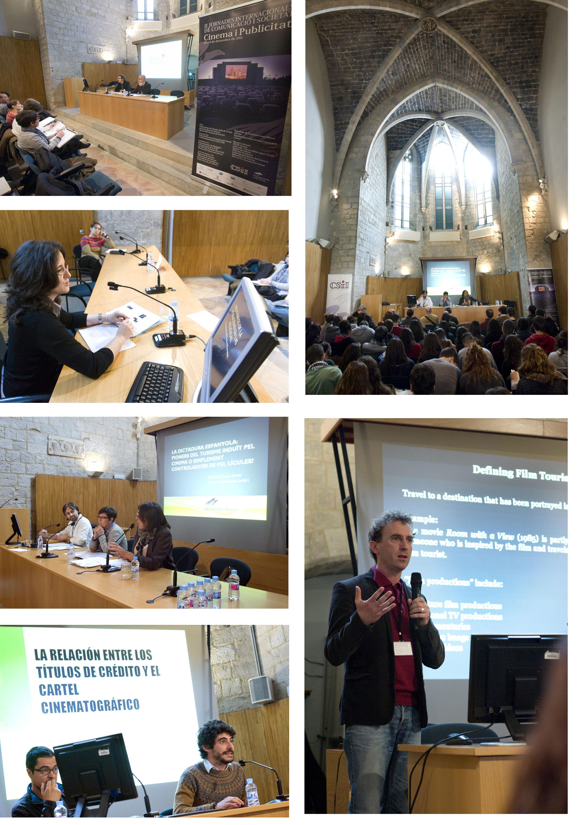 Fotografies II Jornades Internacionals de Cinema i Publicitat