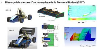 Design of wings for Formula Student single-seater car