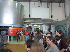 Visit to the San Miguel brewery