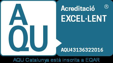 Acreditació excel·lent d'AQU Catalunya