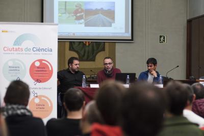 Dr. López-Ros en la seva intervenció al Càpsules de Ciència