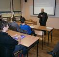Imatge Francesc Feliu a la Universitat de Poznan