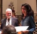 La investigadora Verònica Postils rep el Premi de la Societat Catalana de Química