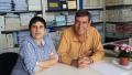 Mònica González i Ferran Casas a la UdG