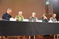 Teresa Font en una de les taules rodones del Segon Simposi Internacional Joan Vinyoli