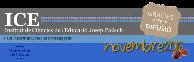 Oferta formativa i informació adreçada a professorat no universitari.