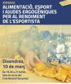 Cartell de la Jornada sobre Alimentació i Esport