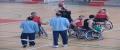bàsquet amb cadira de rodes
