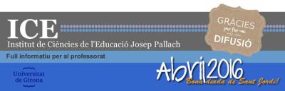 Oferta formativa i la informació adreçada al professorat no universitari.