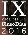 """IX Premis """"Cinco días"""" a la innovació empresarial"""