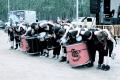 Banda de Percussió Pere Botero durant la Festa Major de la UdG 2013.
