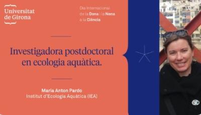 Dra. Maria Antón-Pardo (EcoAqua)