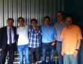 A la fotografia, alguns dels investigadors participants en l'estudi: Julio Lloret, Marc Font, Ferran Acuña, Xavi Ribas, Miquel Costas i Josep Maria Luis