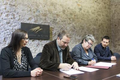 Conveni UdG - Ajuntament de Tossa de Mar