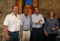 La signatura del conveni a la Universitat de Girona.