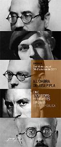 A l'ombra de Josep Pla