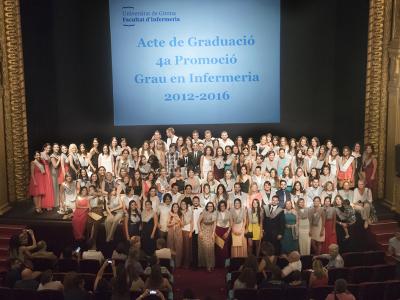 Acte de Graduació de la 4a Promoció de Graduats en Infermeria (2012-2016)