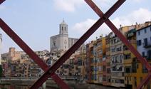imatge de Girona des del pont