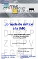 Jornada de sintaxi a la UdG