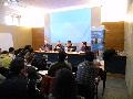 La taula rodona amb 4 dels participants del seminari