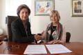 Signatura del Conveni de Col·laboració entre el Consell Social de la UdG i la Fundació Jaume Casademont