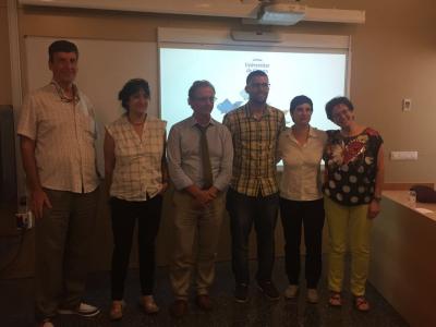 Joan Llosada, directors de Tesi i membres del tribunal