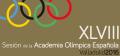 Programa de la Sessió de l'Acadèmia Olímpica Espanyola