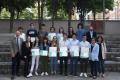 El Consell Social de la UdG, premia dotze treballs de recerca de batxillerat