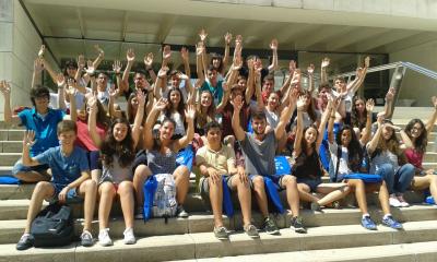 Els alumnes del Campus
