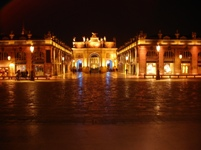 Nancy, Place Stanislas de nit