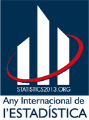 Logo de l'ANY INTERNACIONAL DE L'ESTADÍSTICA