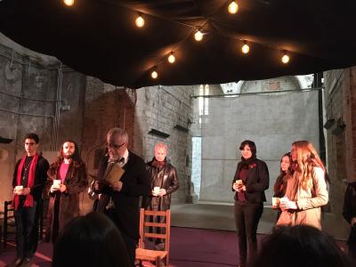 L'ILCC i l'Aula de Teatre de la UdG organitzen unes lectures teatralitzades de les cròniques del naixement del rei Jaume I els dies 2 i 3 de febrer.