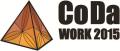 Logotip codaWork 2015