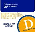 Imatge Escola de Doctorat