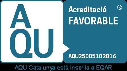 Acreditación favorable de AQU Cataluña