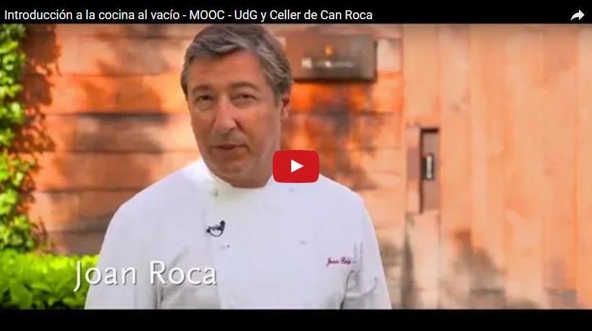 MOOC Introducció a la cuina al buit
